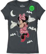 Disney Big Girls Minnie Mouse Print Halloween Cotton T-Shirt
