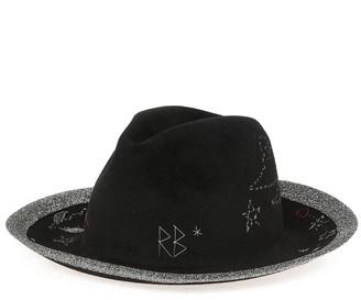 Ruslan Baginskiy Felt Wide Brimmed Hat