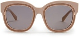 Stella McCartney Falabella chain-embellished acetate sunglasses