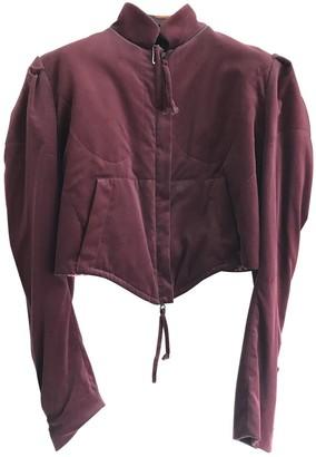 Vivienne Westwood Burgundy Velvet Jackets