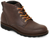 Ecco Dark Clay Holbrok Mid Cut Lace-Up Boots