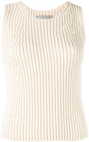 Vince ribbed-knit top - women - Cotton/Polyamide - S