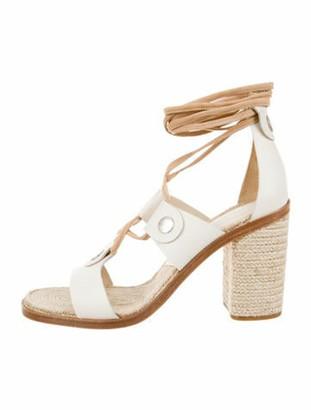 Rag & Bone Eden Leather Sandals w/ Tags silver
