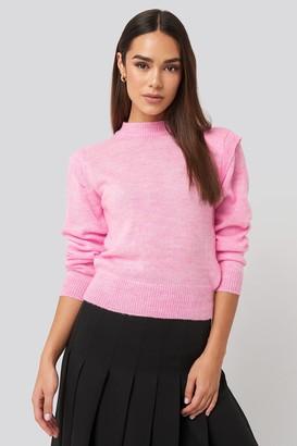 Trendyol Padded Sweater Grey