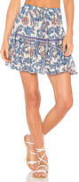 Spell & The Gypsy Collective Etienne Mini Skirt in Blue. - size Aus 6/US XS (also in Aus 8/US S)