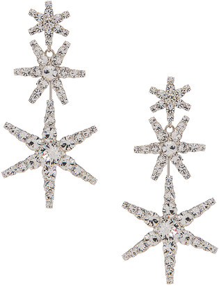 Jennifer Behr Aurelia Earrings in Crystal | FWRD