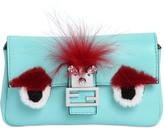 Fendi Micro Baguette Monster Leather Bag