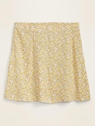 Old Navy Printed Flutter Mini Skirt for Women