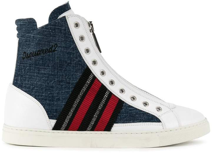 DSQUARED2 hi-top sneakerss