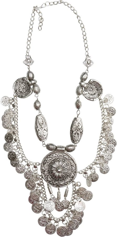Child Of Wild Moons Vengeance Indian Necklace