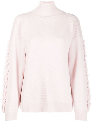 Barrie cashmere turtleneck jumper