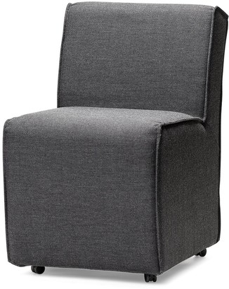 Mercana Home Furniture & Decor Damon Dining Chair On Casters