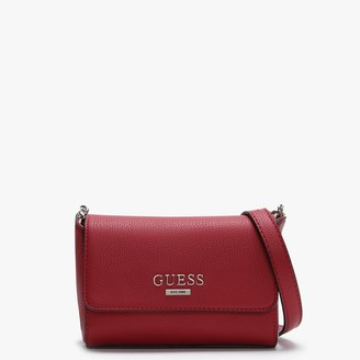 GUESS Mini Alma Red Cross-Body Bag