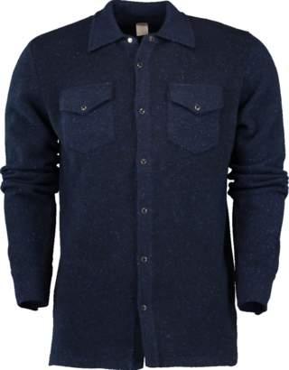 Eleventy Western Cashmere Shirt