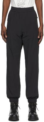 MONCLER GRENOBLE Black Sports Lounge Pants