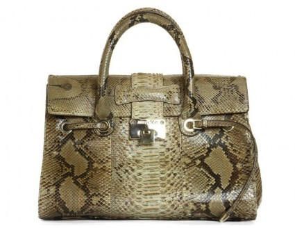 Jimmy Choo excellent (EX Rosalie Python Bag *Layaway Available*