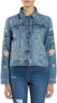 Superdry Embroidered Sleeve Denim Jacket