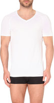 Hanro V-neck Short-sleeved T-shirt