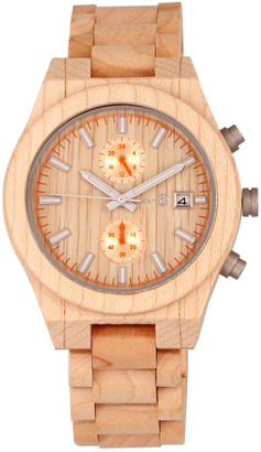 Earth Wood Unisex Castillo Watch