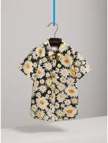 Burberry Short-sleeve Daisy Print Shirt