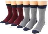 Brixton Weston 6-Pair Pack (Navy/Red, Navy/Grey) - Footwear