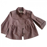 Burberry Pink Polyester Jacket