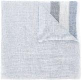 Fay stripe panel scarf