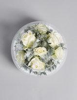 Marks and Spencer Snow Globe Christmas Vase (Pre Order)