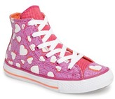 Converse Toddler Girl's Chuck Taylor All Star Valentines High Top Sneaker