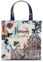 Harrods Watercolour Small Shopper Bag