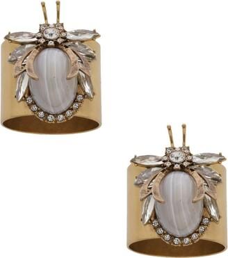 Joanna Buchanan Vintage Bug Napkin Rings (Set of 2)