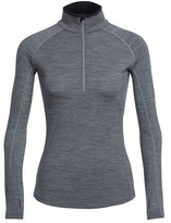 Icebreaker Women's Zone Long Sleeve Half Zip Tee