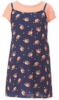 My Michelle Big Girls 7-16 2-Fer Printed Dress