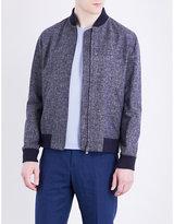 Richard James Melange Cotton Bomber Jacket