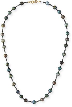 Black Diamond Splendid Company Tahitian Pearl Necklace