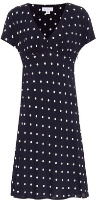 Velvet Juna polka-dot dress