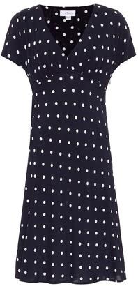 Velvet Juna polka-dot dress