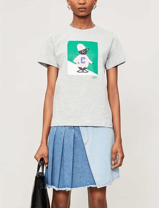 Chocoolate Penguin-print cotton-jersey T-shirt