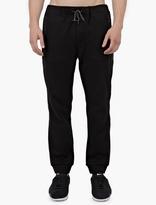 Oamc Black Cotton-Jersey Sweatpants