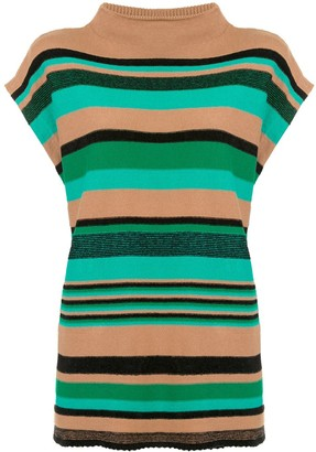 Coohem Striped Sleeveless Jumper