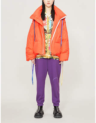 Selfridges Khrisjoy Khris hooded funnel-neck shell-down jacket