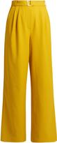 Tibi Wide-leg twill trousers
