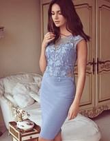 Lipsy Love Michelle Keegan Lace Applique Bodycon Dress