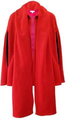 Red Cape Coat J2911