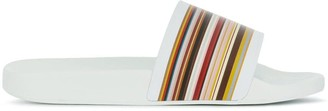 Paul Smith signature stripe slides