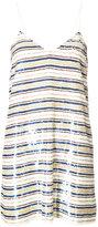 Ashish sequin striped dress