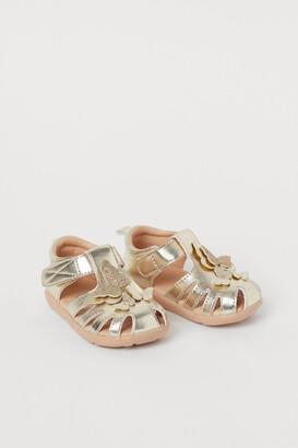 H&M Appliqued Sandals