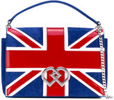 DSQUARED2 Union Jack shoulder bag - women - Calf Leather/Goat Skin/Polyamide/Viscose - One Size
