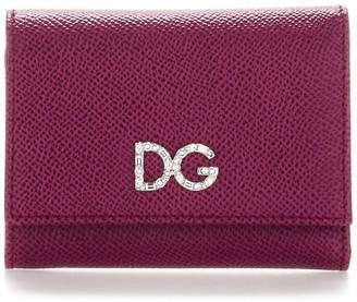 Dolce & Gabbana Embellished Logo Wallet
