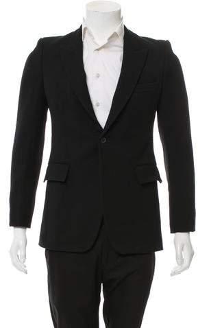 Balmain Wool One-Button Blazer